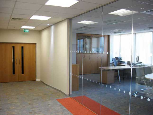 Commercial building contractor bolton construction for Office interior contractor